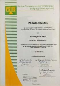 Certfikowany specjalista integracji sensorycznej w Bochni i Starym Sączu